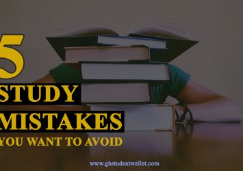 study mistakes you want to avoid